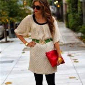 Anthropologie Lauren Moffatt Cream Dress 2
